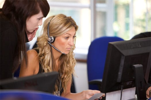 Call centre insurance experts