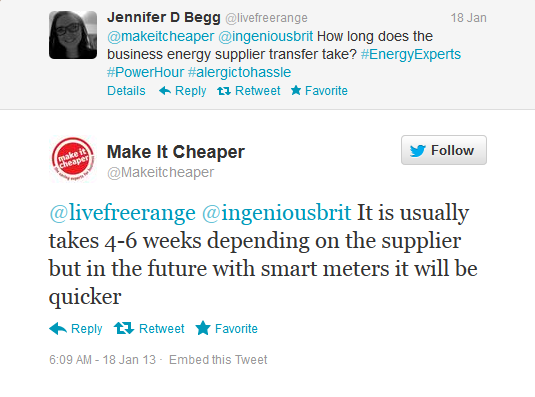 Tweet from Jennifer D Begg