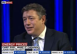 Jonathan Elliott on Sky News