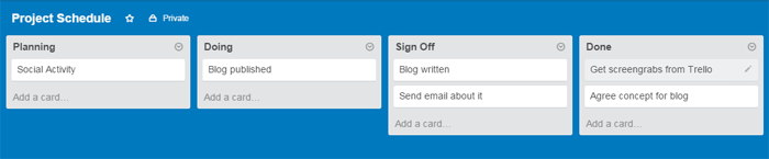 Trello add cards