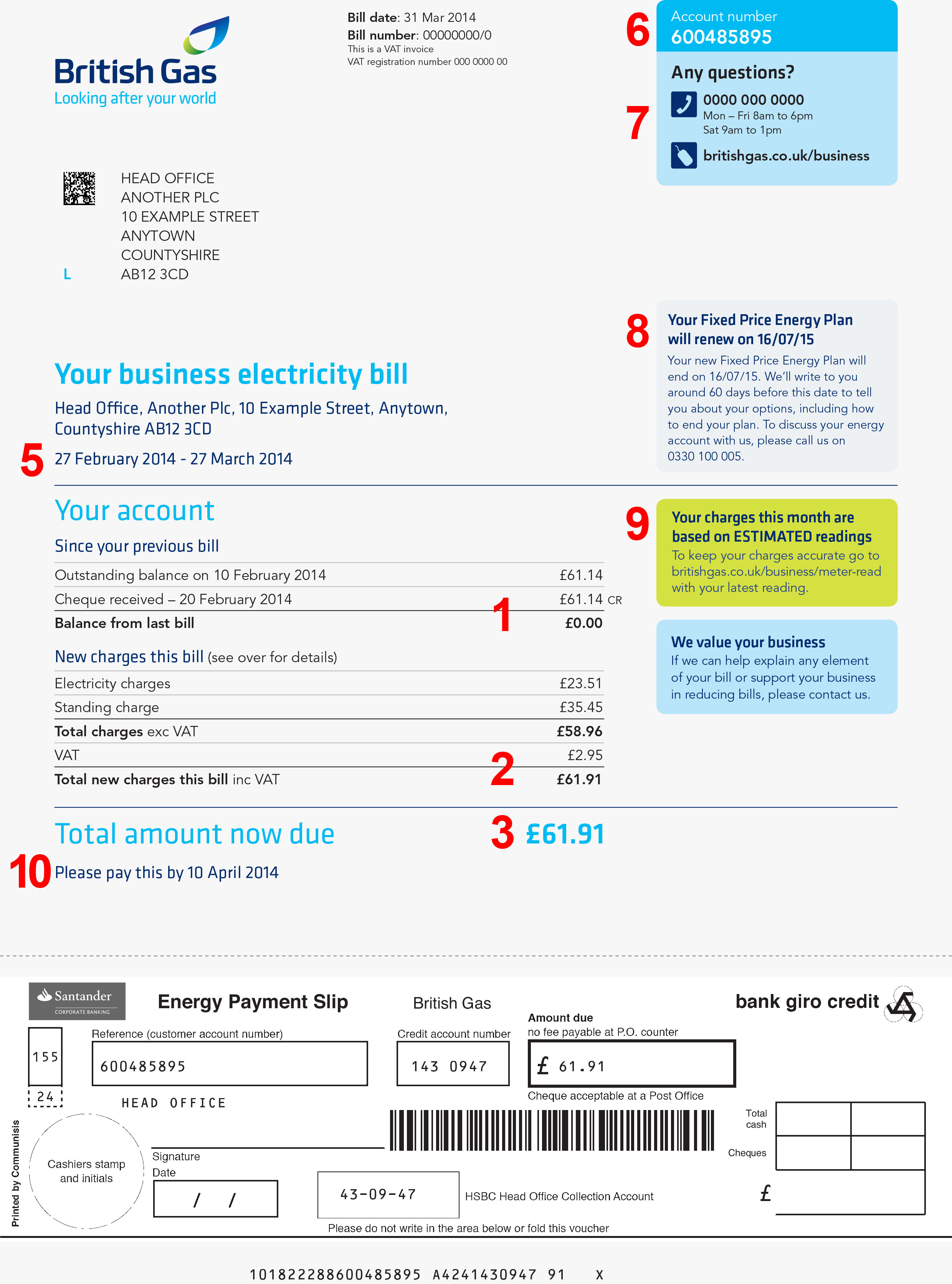 [PDF] Your British Gas bill explained - Free Download PDF